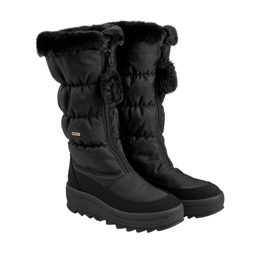 Pajar® Stepp-Stiefel Heute Après-Ski, morgen Stadtbummel: der schlanke Snow-Boot mit High-Fashion-Potenzial.