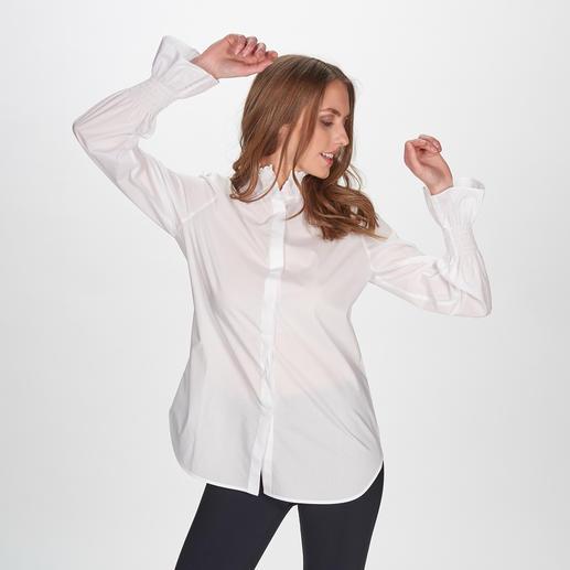 aybi Basic-Bluse Die modische Neuinterpretation der weißen Basic-Bluse. Vom Münchner Newcomer-Label aybi.