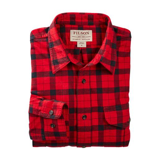 In den USA längst Kult – hierzulande noch schwer zu finden. Das original Alaska-Guide-Holzfäller-Shirt von Filson.