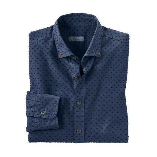 Ingram 3D-Tupfen-Hemd So außergewöhnlich dreidimensional sind nur die wenigsten Tupfen.