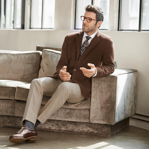 Gran Sasso Geelong-Strickblazer Einen weicheren, besseren Woll-Blazer werden Sie kaum finden.