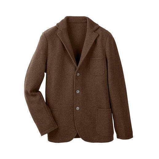 Der weiche Blazer aus einer der hochwertigsten Wollsorten der Welt. Einen weicheren, besseren werden Sie kaum finden.