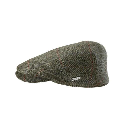 """Kangol® Tweed-Schiebermütze Selten zu finden: eine Tweed-Schiebermütze, die noch """"made in England"""" ist. Gewebt von Abraham Moon & Sons."""