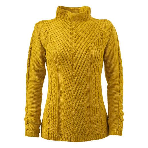 Peregrine Mustermix-Pullover Selten vereint ein Pullover so viele spannende Strukturen.