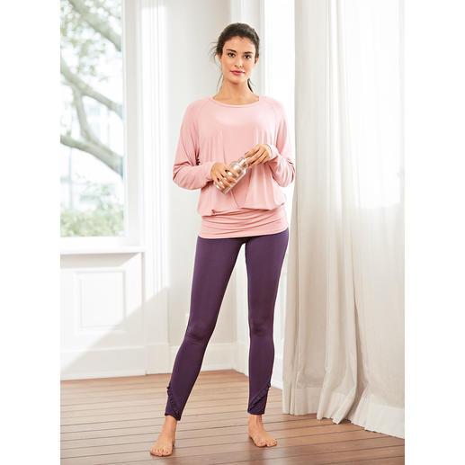 Curare Yoga-Tank-Top, -Fledermaus-Shirt oder -Volant-Pants Weit mehr als nur ein Yogasuit: Dies ist Wellness zum Anziehen.