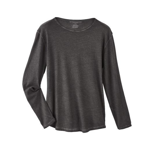 Kaschmirweiches Langarm-T-Shirt Weicher und wärmer als einfache Baumwoll-Shirts: das Edel-Longsleeve mit Kaschmir.