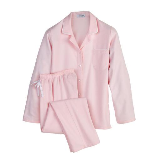 NOVILA Flanell-Pyjama, Damen Der Pyjama für den ersten guten Eindruck am Morgen.