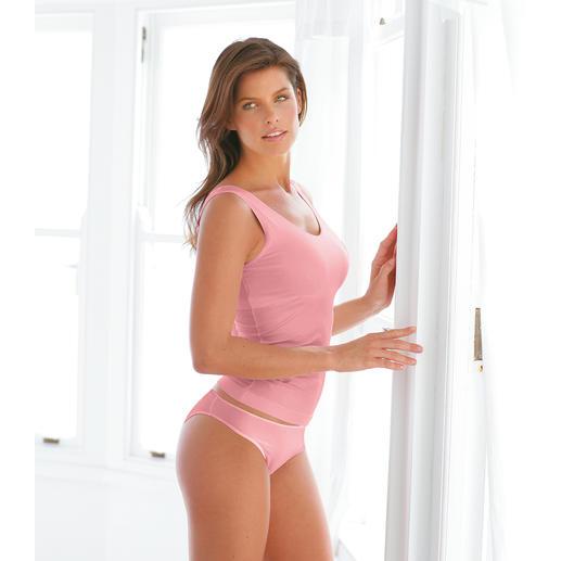 """Shelf-Bra-Wäsche, Rosa Diese Wäsche aus seidenweichem Meryl® formt und stützt mit unsichtbarem """"Shelf-Bra""""."""