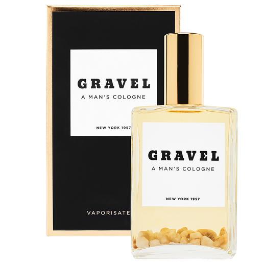 Gravel Eau de Parfum Spray, 100 ml - Ein Stück amerikanischer Parfum-Geschichte: Der erste Herrenduft der USA. Klar. Kräftig. Würzig. Mineralisch.