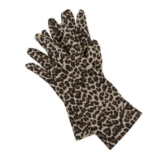 Ixli Fleece-Handschuhe, Animalprint Animalprint statt langweilig uni.
