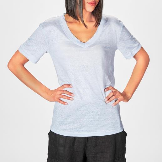 SLY010 Leinen-Shirt Modisch. Lässig. Luftig: das SLY010 Edel-Shirt aus reinem Leinen.