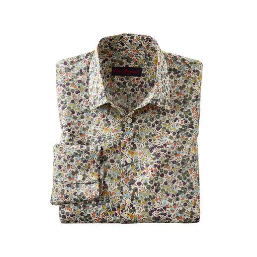 Liberty™ Tana-Lawn-Hemd Wiltshire - Das florale Gentleman-Hemd: Bei allen anderen Trend. Bei Liberty™ Tradition seit über 140 Jahren.