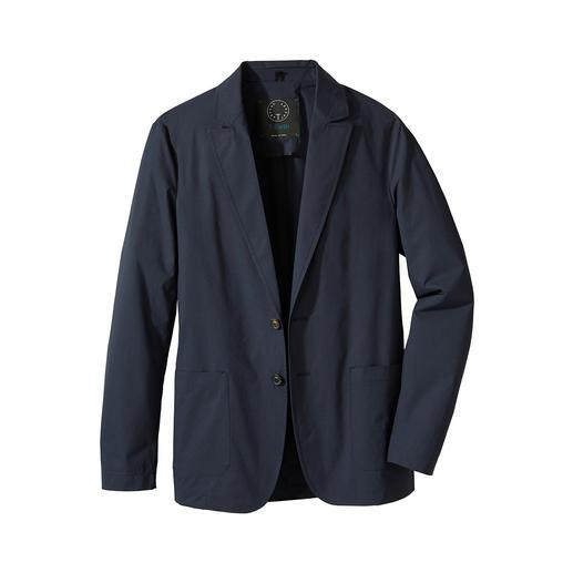 Travel-Light-Jackett Korrekt und stilvoll wie ein Sakko. Luftig und pflegeleicht wie ein Hemd.