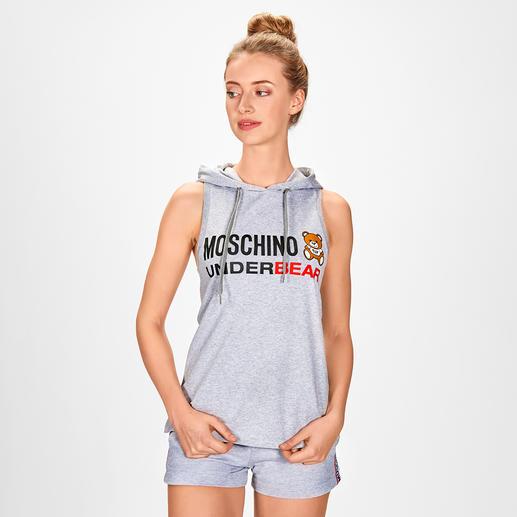 Moschino Underwear Shorty oder Hoodie-Top Die Sporty-Kombi von einem der angesagtesten High-Fashion-Labels – dennoch bezahlbar: Moschino Underwear.