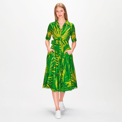 Samantha Sung Kleid Mexican Palm Blüten-Trend eleganter Art: das schwingende Retro-Kleid von Samantha Sung.