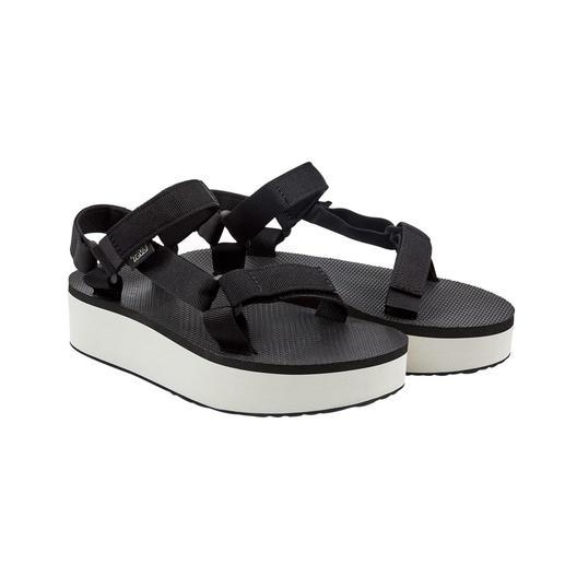 Teva® Plateau-Sandale Fotografiert an den Füßen der Hollywood-Stars: die Outdoor-Sandale von Teva®, USA.