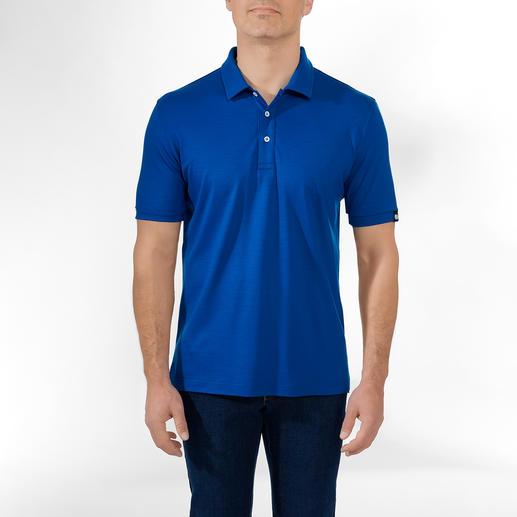 Poloshirt, Royalblau