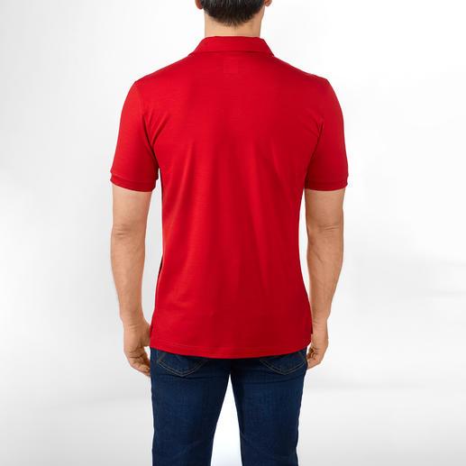Poloshirt, Rot