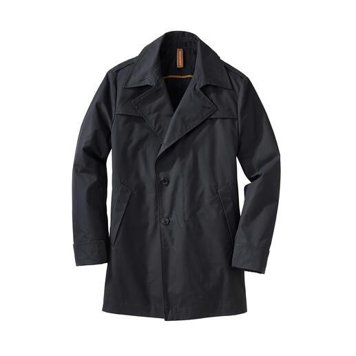 EtaProof® Baumwoll-Wettermantel Endlich ein stilvoller Allwettermantel – perfekt von Bike bis Business.