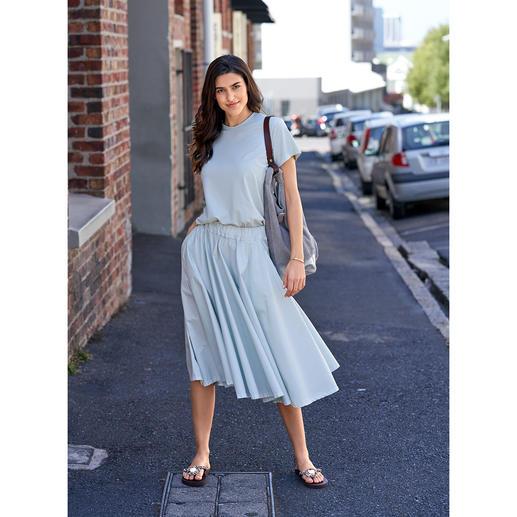 LABO.ART Basic-Rock oder -Shirt Basic und Blickfang zugleich: der puristisch cleane Zweiteiler in der Modefarbe Mint.