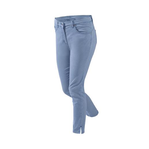 RAPHAELA- BY-BRAX  Zauberbund-Hose Mini-Karo Ihre wohl bequemste Hose: Nicht sichtbare Bundweiten-Reserve plus Power-Stretch-Effekt.