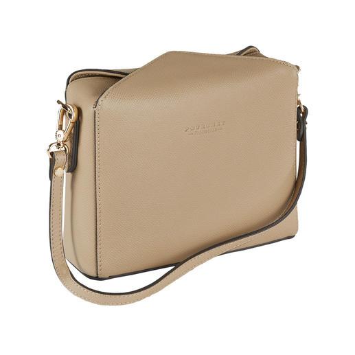 Pourchet Paris Boxy-Bag Trend-Form von heute trifft auf Täschner-Tradition seit 1903.