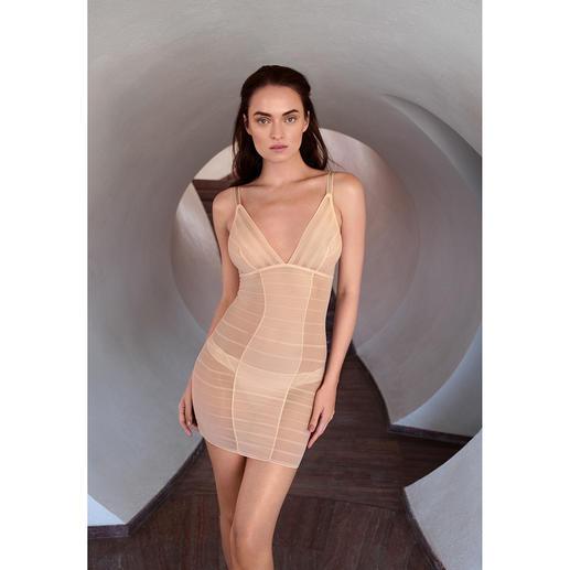 Wacoal Shape-Tüll-Kleid, -Panty oder -BH, Nude Verführerisch schöne Dessous? Oder sanft formende Funktionswäsche? Beides!