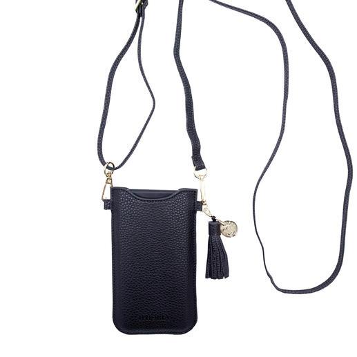 Das Smartphone-Case von Iphoria, Berlin: Smartphone-Case, Crossbody-Bag und Gürteltasche in einem. Fashion-Update für Ihr Smartphone: Die Accessoires vom Berliner Trend-Label Iphoria.