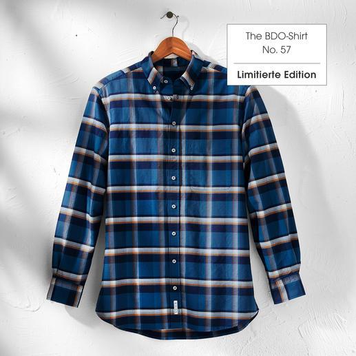The BDO-Shirt, Limited Edition No. 57 Das lässige BDO-Shirt aus luftig-feinem Oxfordgewebe.