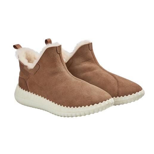 Pajar® Lammfell-Sneakerboots Neuer Look für die geliebten Lammfell-Boots. Schlanker Leisten. Trendige Sneaker-Sohle. Premium-Qualität von Pajar® aus Montreal/Kanada.