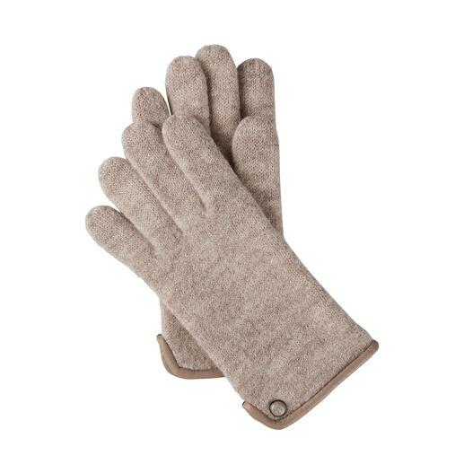 Die Woll-Handschuhe aus edlem Walkstoff: viel weicher (und wetterfester). Von Roeckl, seit über 180 Jahren Spezialist für stilvolle Accessoires. Für Damen.