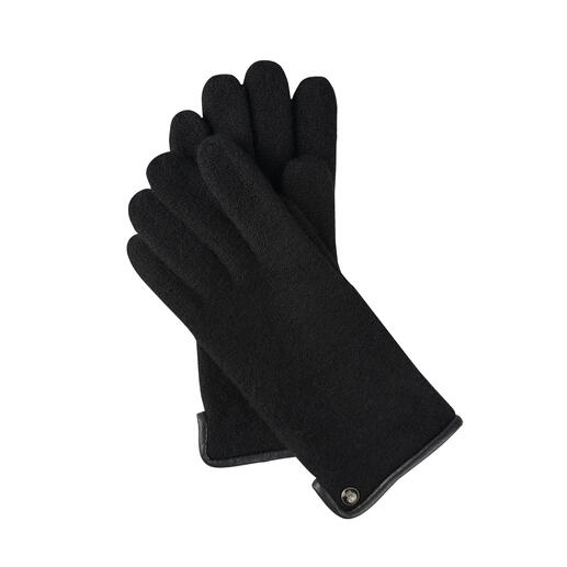 Die Woll-Handschuhe aus edlem Walkstoff: viel weicher (und wetterfester). Von Roeckl, seit über 180 Jahren Spezialist für stilvolle Accessoires. Für Damen und Herren.