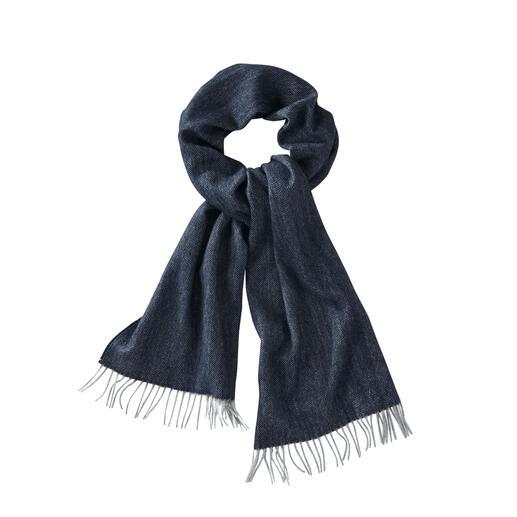 Basic-Kaschmirschal Nur das luxuriöse mongolische Kaschmir ist fein genug für diesen schlichten Basic-Schal.