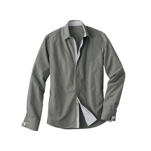 Zip-Off Coolmax-Hemd Business-Hemd 2.0: Das Tragegefühl reiner Baumwolle. Der Klima-Komfort von Coolmax®.