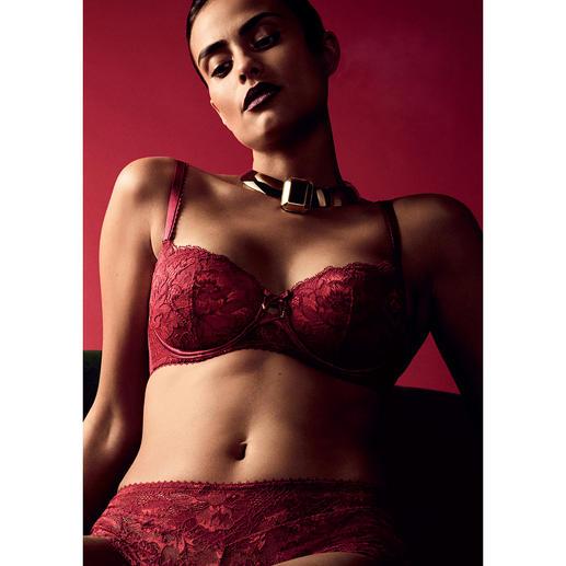 Aubade Push-up-BH oder Panty Rouge Amour Die luxuriösen Dessous für den Alltag: Aube Amoureuse von Aubade.