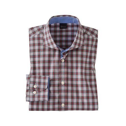 Dorani Tartan-Karohemd So fein und leicht sind authentische Tartan-Hemden nur selten. Mit hochwertigen Schneider-Details konfektioniert von Dorani.