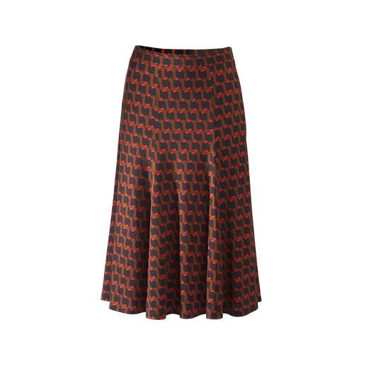Jersey-Rock oder -Shirt Panel Modischer Print. Feminin schwingende Eleganz. Dabei unkompliziert und bequem wie ein T-Shirt.