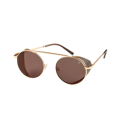 Bogner Gletscher-Sonnenbrille Klare, blendfreie Sicht. Aktuelle Retro-Form. Von Bogner, Spezialist für Skimode seit 1937.