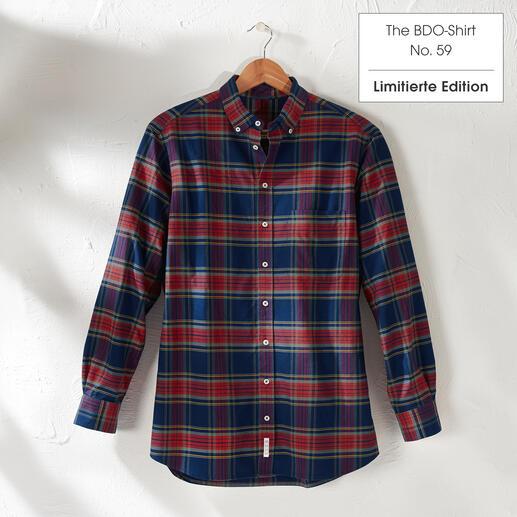 The BDO-Shirt, Limited Edition No.59, Regular Fit Das lässige Baumwoll-Hemd aus luftig-feinem Oxfordgewebe. Entdecken Sie einen guten alten Freund. Und vergessen Sie, dass ein Hemd gebügelt werden muss.