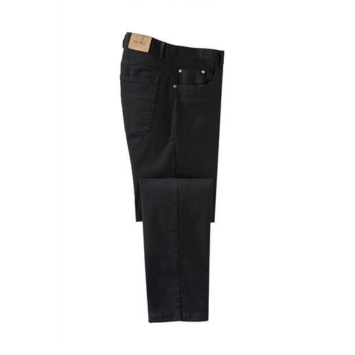 Die farbbeständige schwarze Jeans. Schwarz bleibt schwarz. Wäsche für Wäsche.
