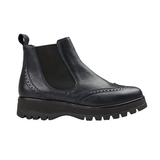 Werner Sporty Chelsea-Boots Modisch wichtige Form. Super softes Leder. Leichte, isolierende TPR-Sohle.