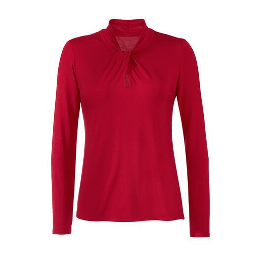 Die Essential-Shirts aus seltenem Tencel™-Jersey. Seidig weich. Viel länger schön als einfache Baumwoll-Basics … und viel eleganter und femininer.