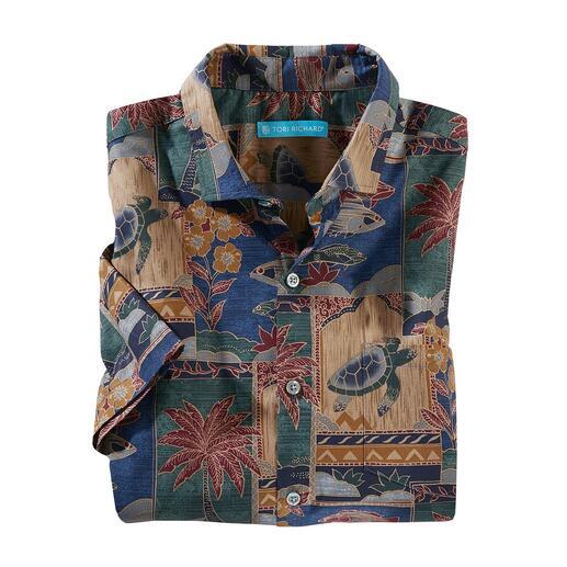 Das Aloha Shirt von Tori Richard. Hergestellt auf Hawaii. Ihr Hawaii-Hemd sollten Sie auf Hawaii kaufen. Oder ...