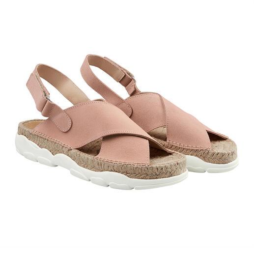 Die modische Trekking-Sandale vom Hersteller mit mehr als 100-jähriger Erfahrung: [espadrij] l'originale. Made in Spain.