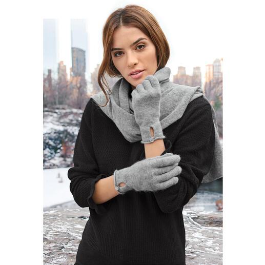 Kaschmir-Schal, -Mütze oder -Handschuhe