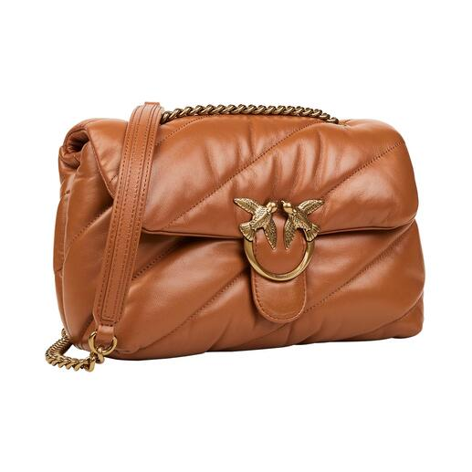 Die Pinko Love Bag in modischer Puffer-Variante. Gestern Klassiker. Heute Toptrend. Morgen Klassiker.