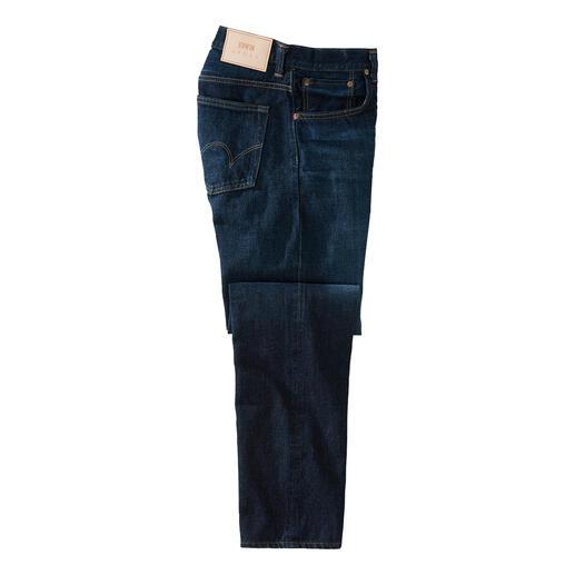 Der Jeans-Klassiker mit Selvage-Kante: Besonders dichter, haltbarer Denim. Von Edwin, der ersten Jeansmanufaktur Japans, seit 1947.