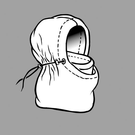 Kapuzenmütze Balaklava Die Urform dieser Kapuzenmütze wurde in den kalten Wintern an der Krim erdacht und erprobt.