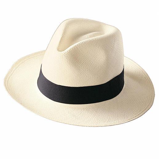 Der echte Panama-Hut. Der echte Panama-Hut. Handgeflochten in Ekuador.