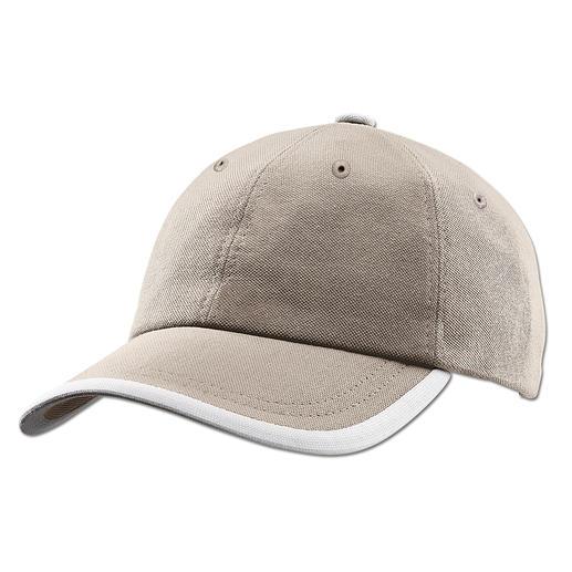 Coolpass® Baseball-Cap - Hält die Sonne ab. Und sorgt für einen kühlen Kopf. Die Baseball-Cap mit Coolpass®.